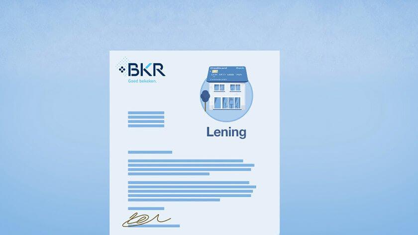 BKR registratie laten verwijderen
